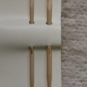 Clover bamboo knitting repair hooks (2)