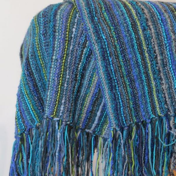Striped Garter Throw (1)