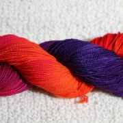 Spritzer 4ply Leaping Lava