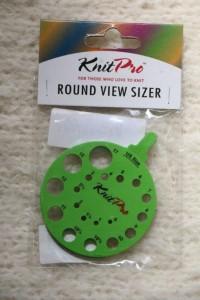 Knitpro needle gauge
