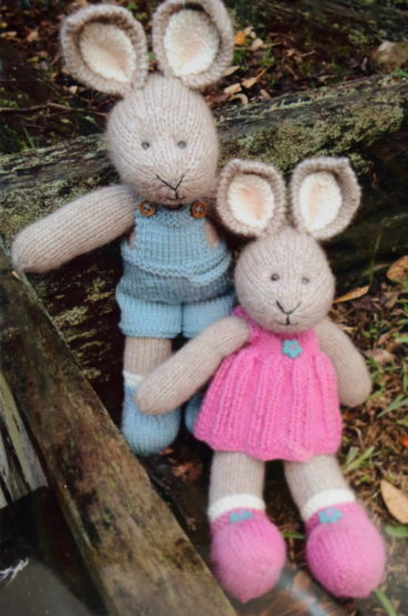 Lexie And Dunstan Bunny