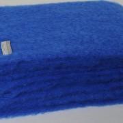COBALT BLUE MOHAIR