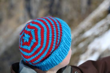 Wally Whirl Beanie Pattern