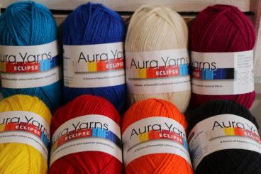 Aura Yarn 8ply