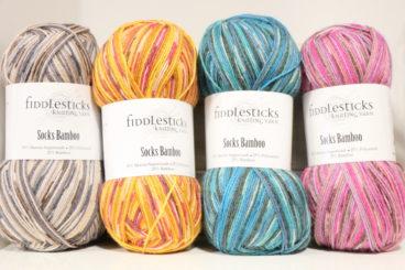 Fiddlesticks Socks Bamboo