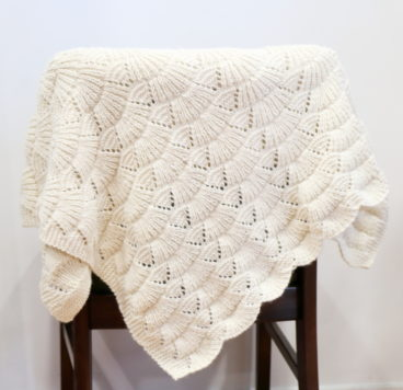 Scallop Shell Shawl