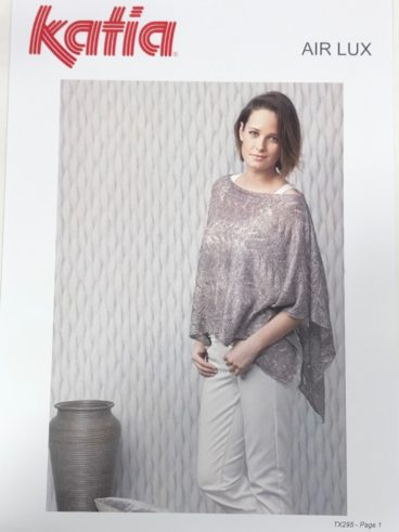 Katia Air Lux Poncho Top – Pattern