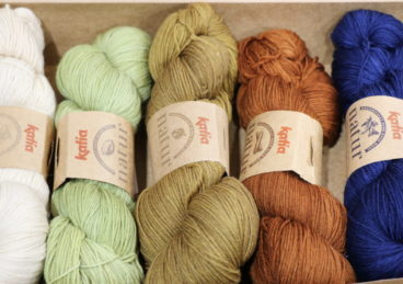 Katia Natur 4ply – Organically Hand Dyed Yarn
