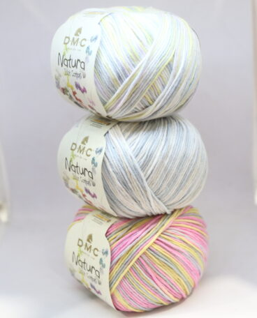 DMC Natura Cotton 4ply Variegated