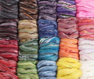 Merino / Silk Fibre 50g