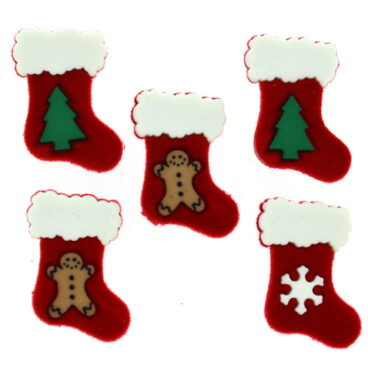 Jessie James – Dress It Up Xmas Embellishments