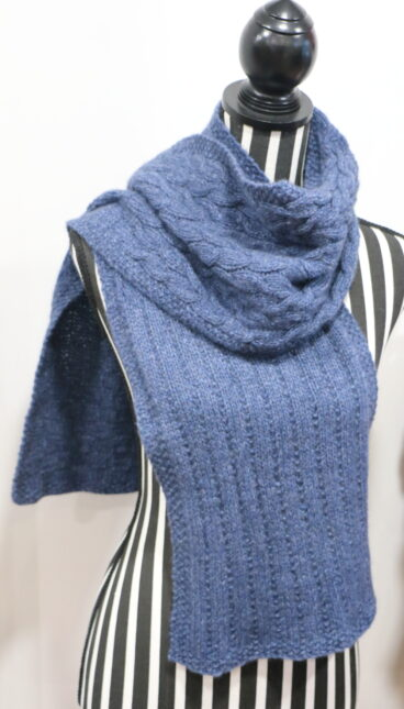 Brushtail Scarf Pattern, Kit, Or Handknitted By Us