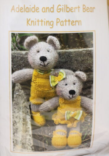 Adelaide And Gilbert Bear – Pattern Or Kit