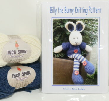 Billy The Bunny – Pattern Or Kit