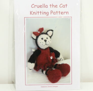 Cruella The Cat – Pattern Or Kit