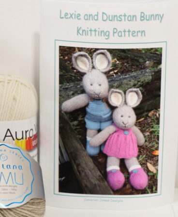 Lexie And Dunstan Bunny – Pattern Or Kit