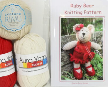 Ruby Bear – Pattern Or Kit