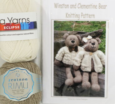 Winston And Clementine Bear – Pattern Or Kit