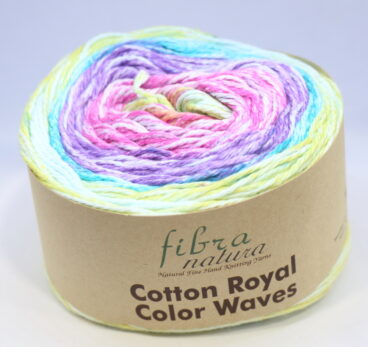 Fibra Natura – Cotton Royal Color Waves 8ply