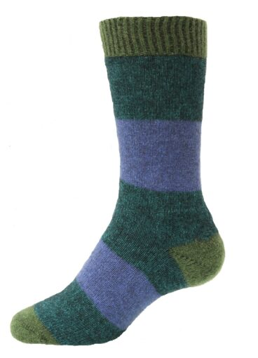Possum Merino Hoop Sock NW5126