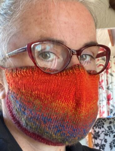 Knitted Face Mask Pattern – 4ply