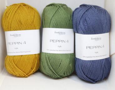 Peppin 4ply Merino 50g/180m